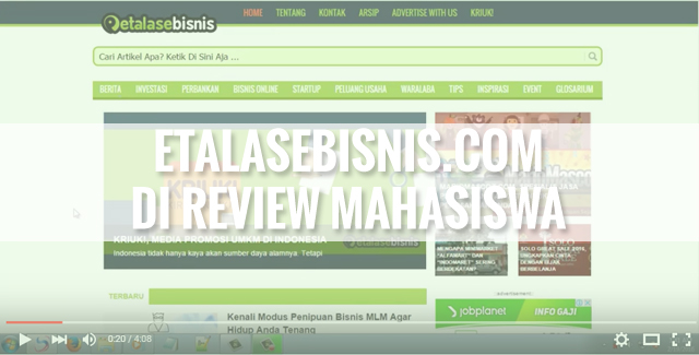 EtalaseBisnis YouTube
